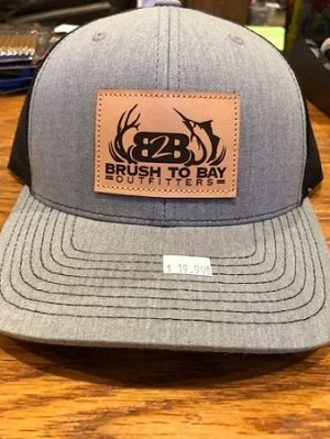 B2B Richardson Hat with Leather Patch