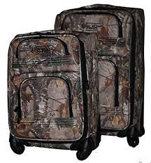 Foreverlast Realtree Luggage-2 Pc Set