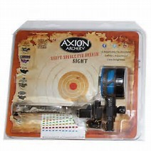 Axion Shift 1 Pin Blue